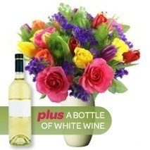 Bright Bunch + White Wine