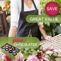 Florist's Choice Arrangement With Free Chocolates