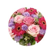 Rose And Gerbera Posy