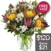 Natives With Free Vase