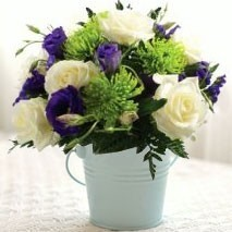 Lovely Lilac and Lime Bunch
