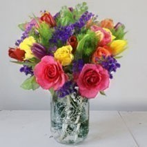 Bright Mixed Flower Bunch