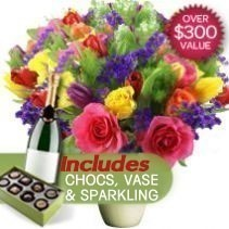 Celebration Package With Free Vase