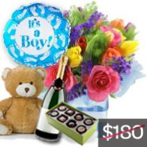 New Baby Boy Celebration Package
