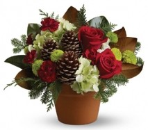 Country Christmas Flowers