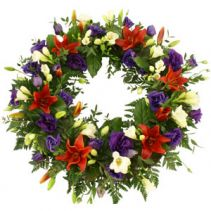 Wreath With Mixed Colours