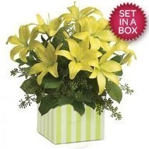 Yellow Lily Arrangement